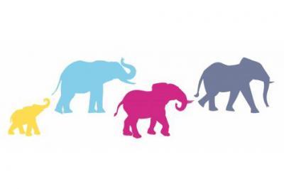 Elephants Trail 4 elephants logo